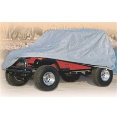 Full Car Cover for Jeep Wrangler JK 4D 2007-2017 by Smittybilt