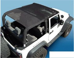 Outback Extended Bikini Top for 2 Door Jeep Wrangler JK 2010-2014 - Mesh
