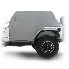 Water Resistant Cab Cover with door flap for Jeep Wrangler JK 2007-2014 - Gray