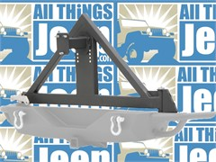 SRC Tire Carrier - Jeep Wrangler JK 2007-2015