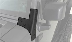 Windshield Brackets, Black for Jeep Wrangler JK (2007-2014)