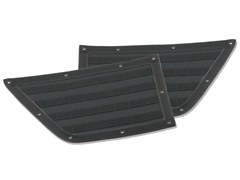 G.E.A.R. Front Door Panels Wrangler JK 2007-2016 Black by Smittybilt