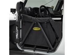 SRC Tubular Doors Wrangler JK 2007-2017 Front Textured Black