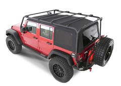 SRC Roof Rack 300lb Rating - Jeep Wrangler JK 4 door 2007-2015