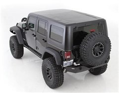 Hard Top - Two Piece for Jeep Wrangler JK 4 Door Unlimited 2007-2014 - Textured Black