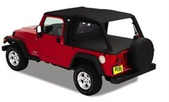 Extended Top- Jeep Wrangler Unlimited LJ 2004-2006-Black Diamond