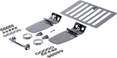 Complete Hood Kit for 1998-2006 Jeep Wrangler TJ and LJ Unlimited - Stainless Steel