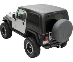 Hard Top, One Piece, Jeep TJ (1997-2006), Black