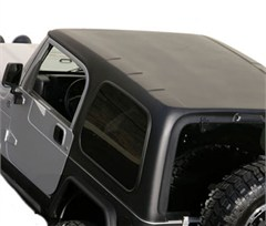 Hard Top One Piece with upper doors for Jeep Wrangler TJ 1997-2006 - Textured Black