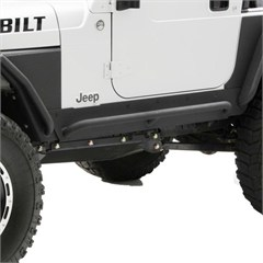 XRC Rock Sliders, Jeep Wrangler TJ (1997-2006), Black