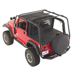 SRC Roof Rack, Jeep YJ (1987-1995), Textured Black