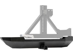 XRC Rear Bumper - Jeep Wrangler YJ, TJ and LJ 1987-2006