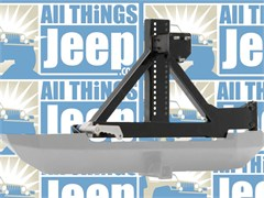 XRC Rear Swing Away Tire Carrier - Jeep Wrangler 1987-2006