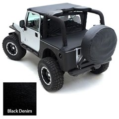 Tonneau Cover for Factory Soft Top - Jeep Wrangler YJ