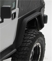 XRC Rear Corner Guards, Jeep YJ (1987-1995), Black