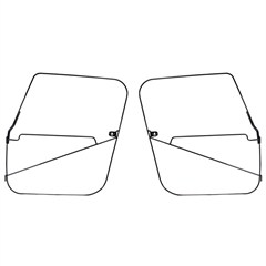 Soft Top Door Frames, (CJ7) 1976-1986, Pair