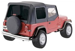 Denim Blk Replacement Skin w/Tint Windows&Door Skins YJ 1987-1995