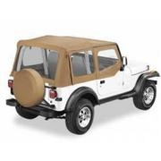 Spice Replacement Skin w/Clear Windows&Door Skins YJ 1987-1995