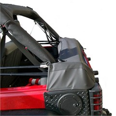 Soft Top Storage Boot, Rugged Ridge, Wrangler (JK) 4-Door (2007-2014) Black Diamond