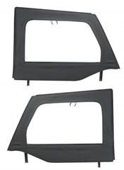 Front Upper Soft Doors, Mopar, Jeep Wrangler JK (2007-2015)