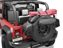 """Spare Tire Organizer w/Bags 34-37"""" Tires by Bestop"""