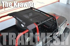 SpiderWeb SpiderShade Krawler Trailmesh for Jeep Wrangler TJ 97-06 - Shade Top