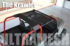 SpiderWeb SpiderShade Krawler Ultramesh for Jeep Wrangler TJ 97-06 - Shade Top