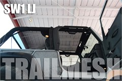 SpiderWeb ShadeTop Trailmesh for Jeep Wrangler LJ Unlimited 04-06 - Bungee Cord Shade Top