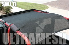 SpiderWeb Ultramesh ShadeTop for Jeep Wranglers 1992-2006 - Bungee Cord Shade Top