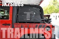 SpiderWeb SpiderSides Trailmesh for Jeep Wrangler JK 2007-2014 - Side Shades