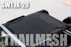SpiderWeb TrailMesh ShadeTop - Jeep Wrangler 2 door JK 2007-2014