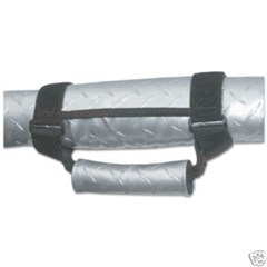 Sports Grab Handles in Silver Diamond Plate by VDP