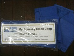 Jeep Shop Towels for your Squeaky Clean Jeep