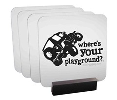 TJ Coaster Set by All Things Jeep