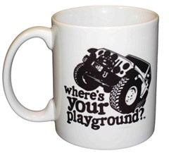Where's Your Playground? JK Coffee Mug by All Things Jeep