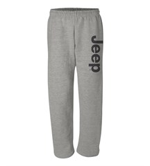 Sweatpants with Dark Gray Jeep Logo