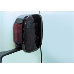 Tail Light Blackouts, 1976-2006 CJ & Wrangler, Smoke