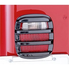 Tail Light Guard Set, 1976-2006 CJ & Wrangler, Smoke