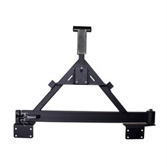 Tire carrier for the XHD Rugged Ridge Rear Bumper, add-on, Jeep Wrangler JK (2007-2014)