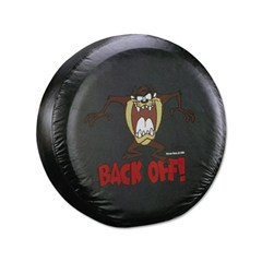 "Taz ""Back Off"" Tire Cover"