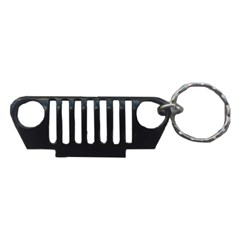 TJ Key Chain:  TJ Grille in Black