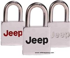Jeep� Padlock, Jeep Logo Design