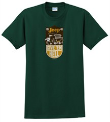 Jeep Give 'Em Hell Men's Tee, Green