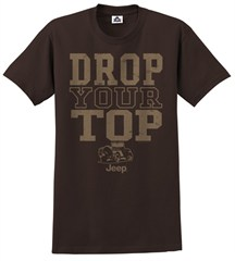 "Jeep ""Drop Your Top""  Men's Tee-Shirt"