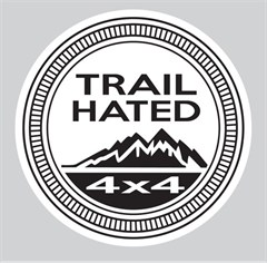 """Trail Hated"" Decal"