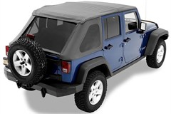 Bestop Trektop NX Frameless Soft Top for 4 Door JK 2007-2014
