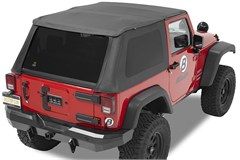 Bestop Trektop NX Frameless Soft Top Jeep Wrangler 2 Door 2007-2017