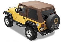 Bestop Trektop NX Frameless Soft Top w/Tint Windows TJ 1997-2006 Spice