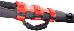 Ultimate Grab Handles CJ & Wranglers 1955-2016 Red Rugged Ridge