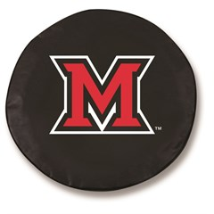 Miami University Redhawks Tire Cover